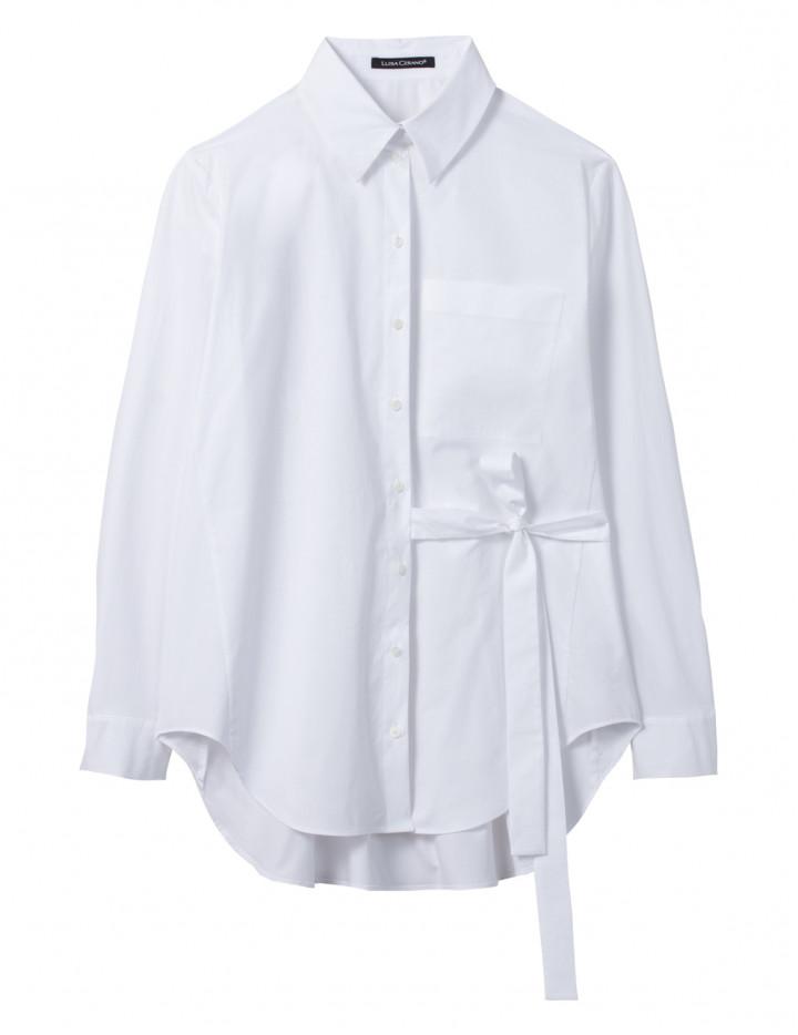 Рубашка с завязкой