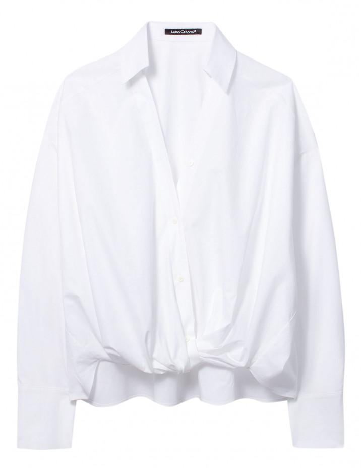 Рубашка с узлом