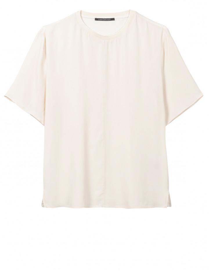 Блуза со строчкой