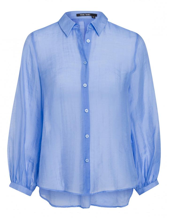Блуза с декоративными швами